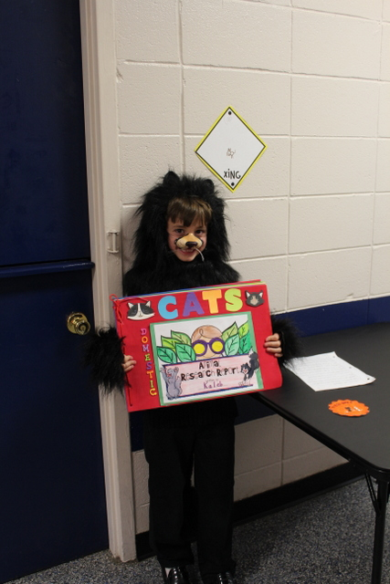 2nd grade book report wax museum