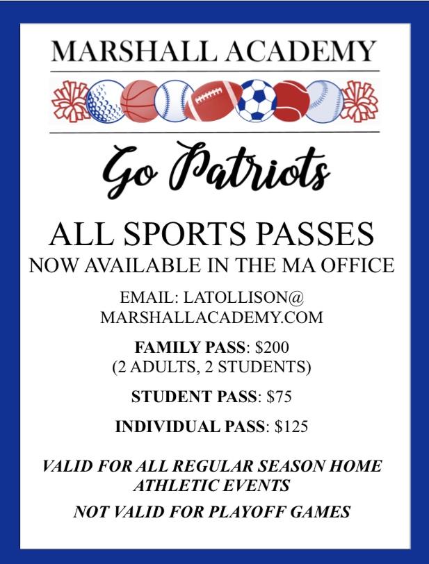 sports pass flyer